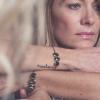 bracelet femme  Louisette trio Emeraude porté