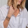 bracelet femme  Alma pastille Opale porté