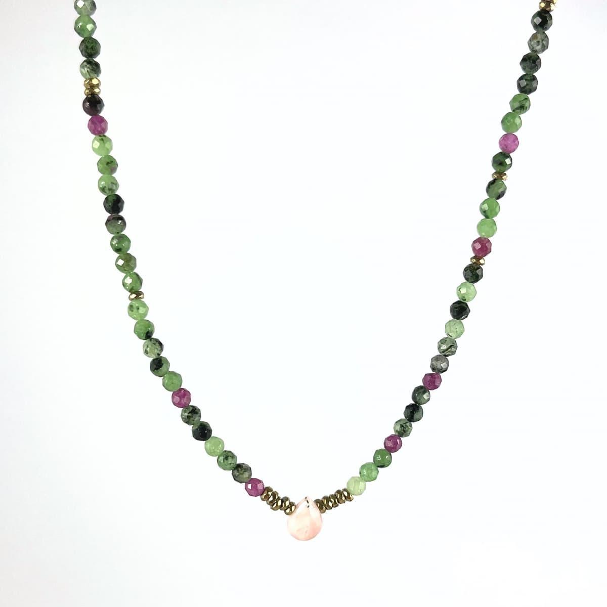 collier femme Anna opale vue générale