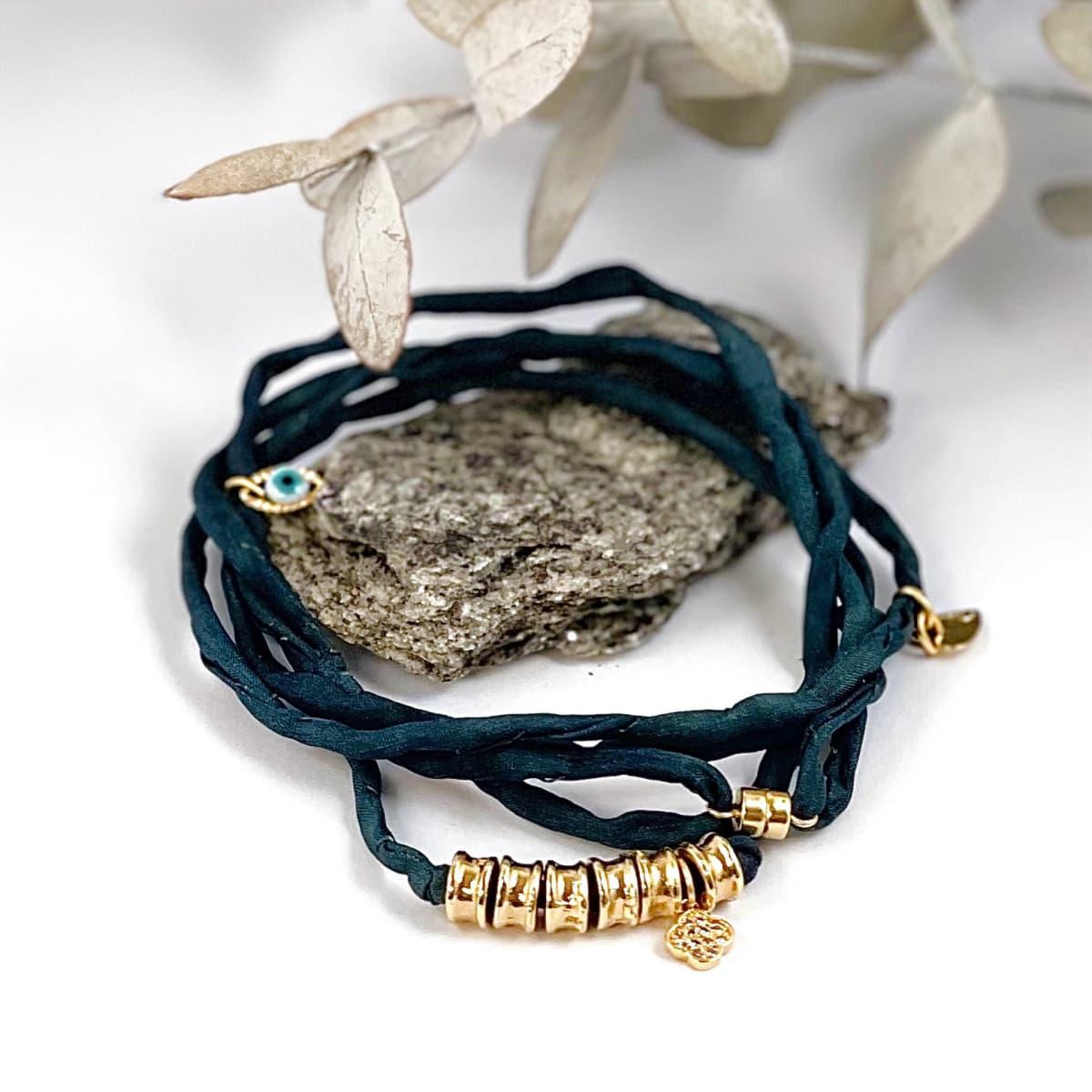 Bracelet Lou cobalt